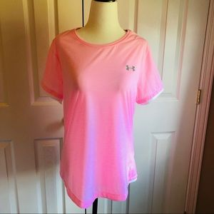 Under Armour HeatGear Run Shirt - size L